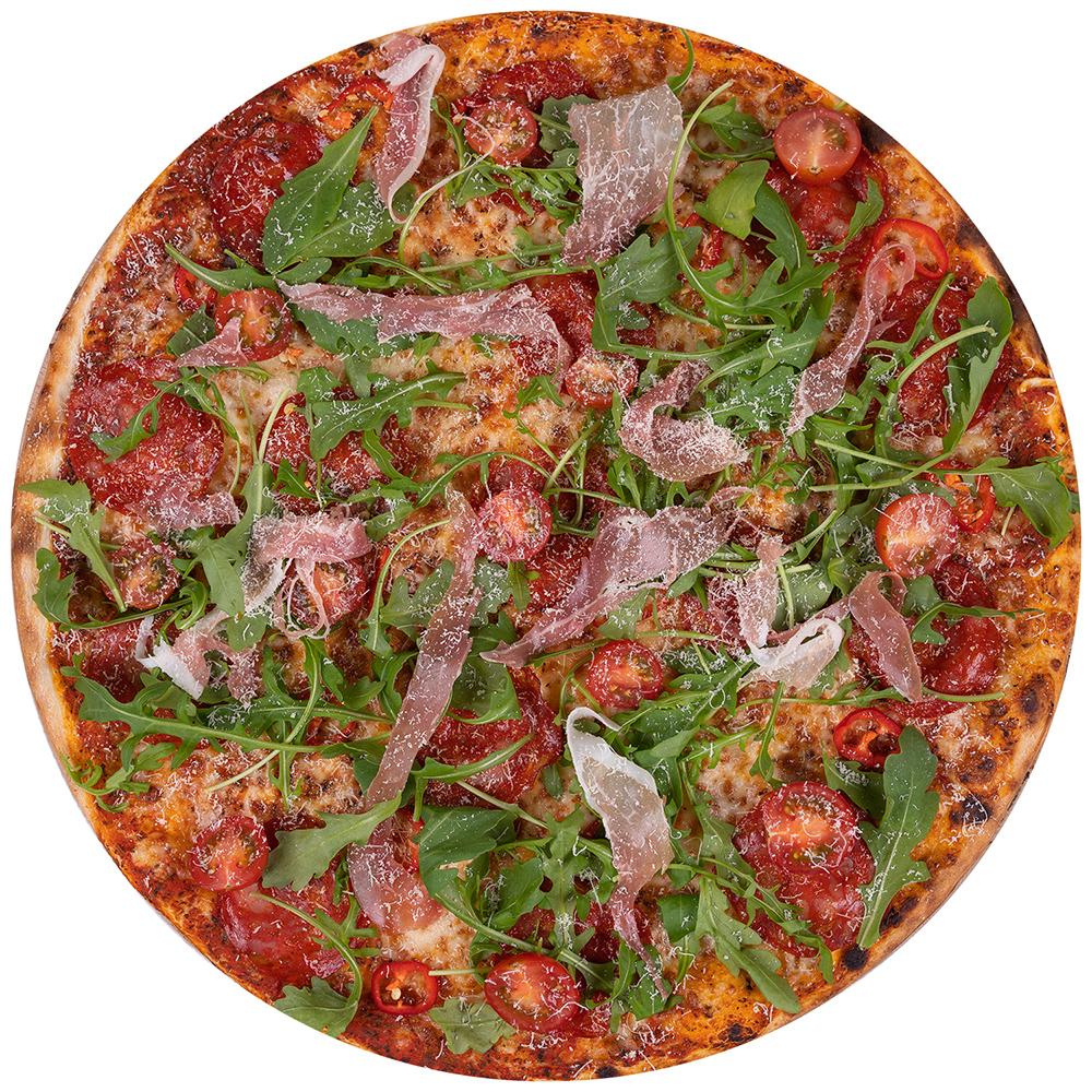 fotografia kulinarna Częstochowa pizza rukola